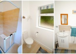 Drumburn Holiday Apartment Milford - shower room