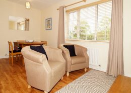 Drumburn Holiday Apartment Milford - view of living area