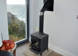 Cliff Lodge Rossnowlagh - solid fuel stove