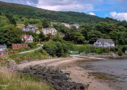 The seaside village of Fahan, Donegal