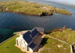 Inishcoo House Donegal from above