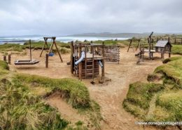 Shore front playground at Pollan Strand, Ballyliffin