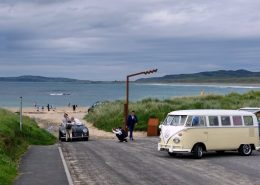 wedding shoot at Ballyliffin Pollan beach