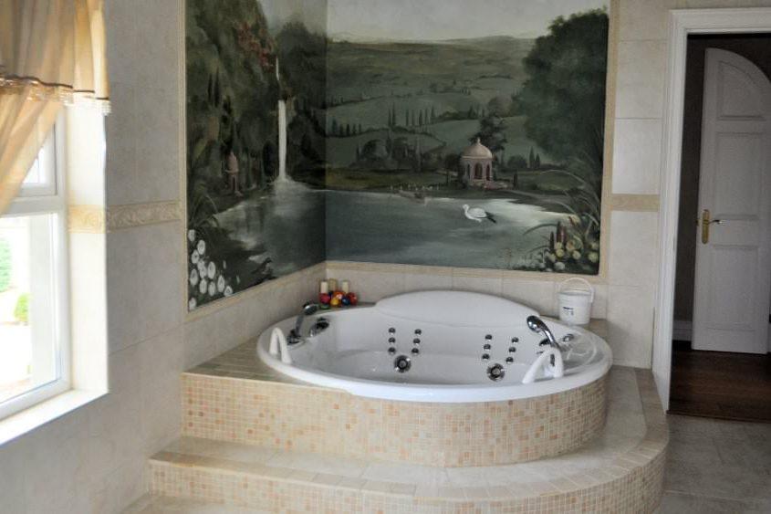 Kildrum Manor - jacuzzi bath